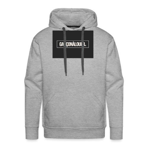 GARÇONÀLOUER - Sweat-shirt à capuche Premium pour hommes