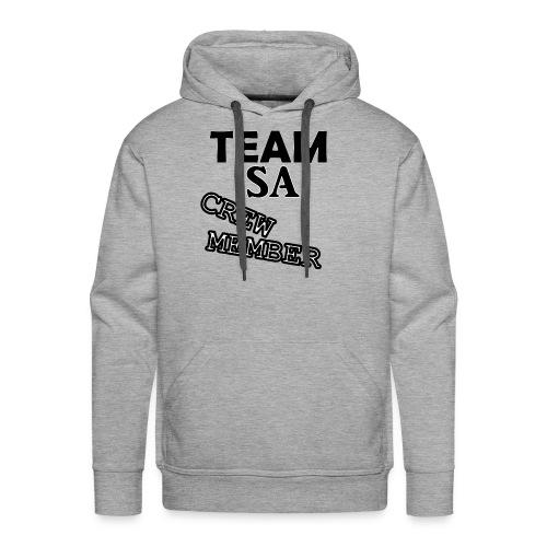 Team SA Crew Member Logo - Premiumluvtröja herr