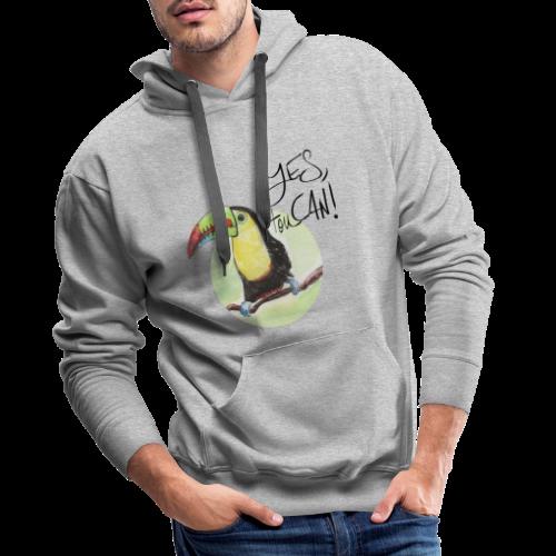 yes, toucan - Männer Premium Hoodie