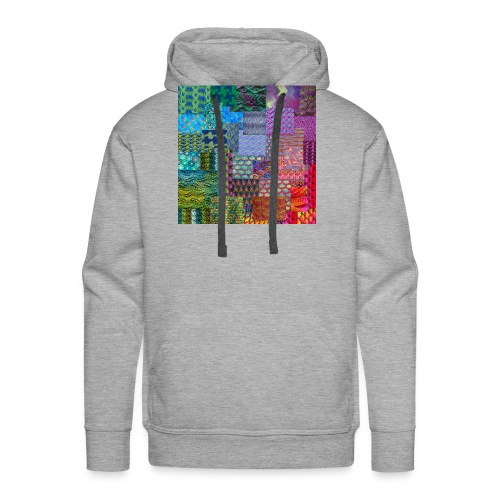 Knitting a rainbow - Premiumluvtröja herr