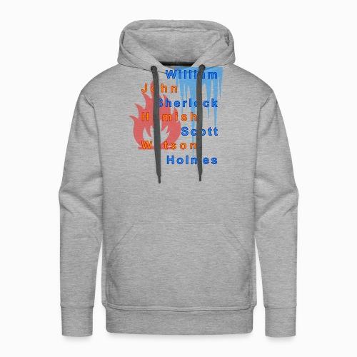 Feuer und Eis - Männer Premium Hoodie