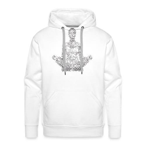 Mediter - Sweat-shirt à capuche Premium pour hommes