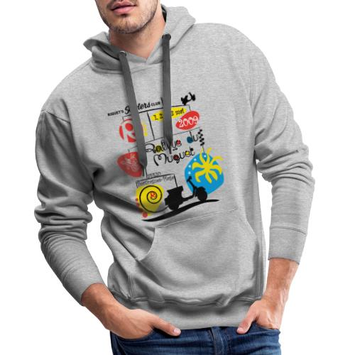 Rallye du Muguet 2009 - Sweat-shirt à capuche Premium pour hommes