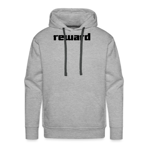 reward black logo - Men's Premium Hoodie