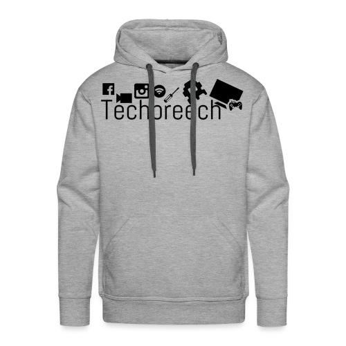 Logotype Techbreech - Premiumluvtröja herr