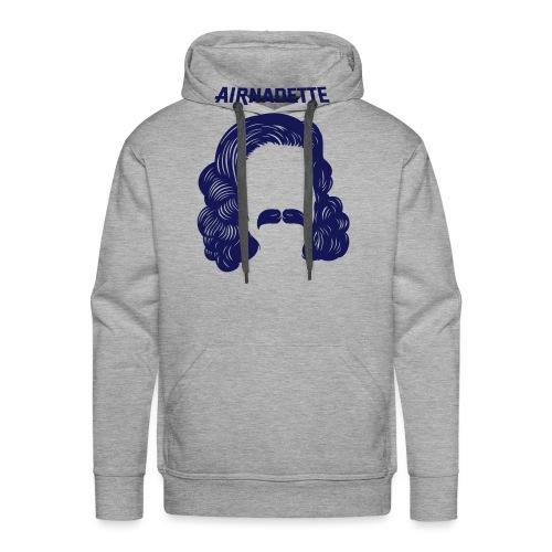 Peukss Airnadette - Sweat-shirt à capuche Premium pour hommes