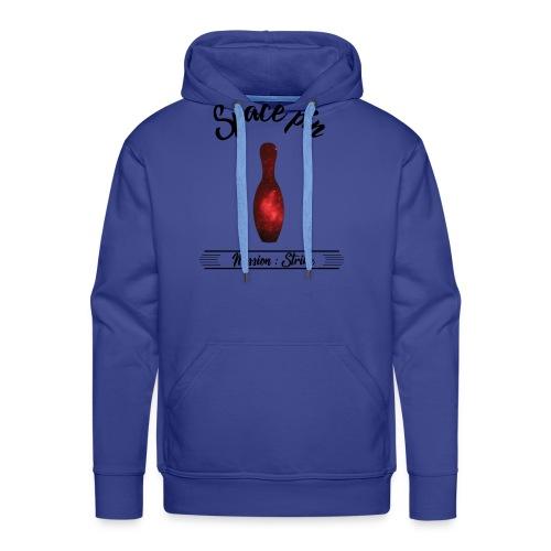La Quille de l'Espace - Sweat-shirt à capuche Premium pour hommes