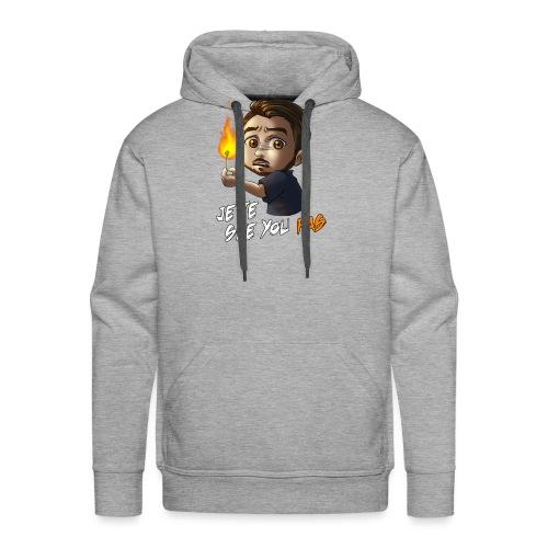 Toshicrow Collection Limitée - 'Je te see you pas' - Sweat-shirt à capuche Premium pour hommes