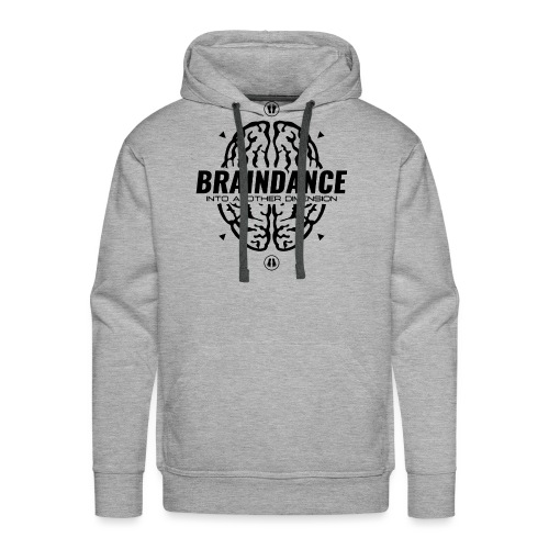 Braindance Into Another Dimension - Men's Premium Hoodie