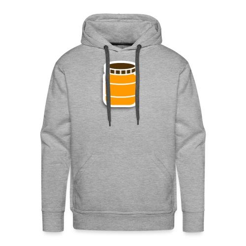PindakaasBaas - Mannen Premium hoodie