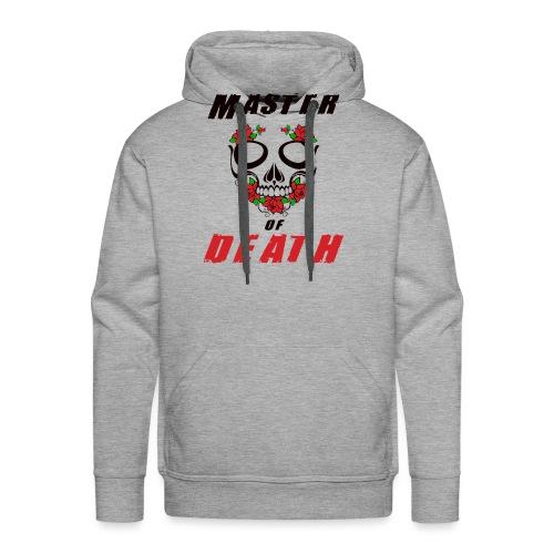 Master of death - black - Bluza męska Premium z kapturem