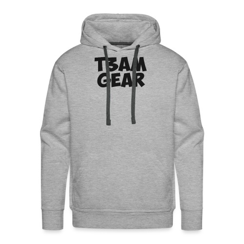 T3am GEAR style - Sweat-shirt à capuche Premium pour hommes