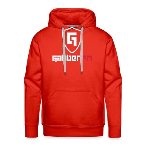 Gabber FM Logo Letters - Men's Premium Hoodie