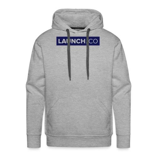launchco logo - Männer Premium Hoodie