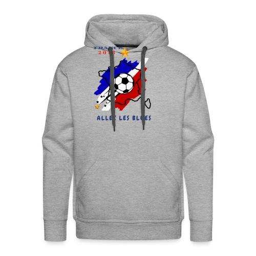 FRANCE - Sweat-shirt à capuche Premium pour hommes