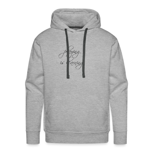 playing is learning - Männer Premium Hoodie