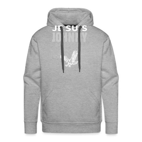 Je suis Johnny aigle - Sweat-shirt à capuche Premium pour hommes