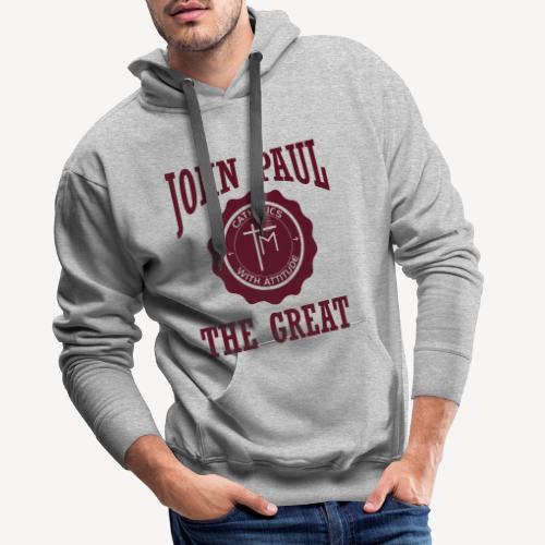 JOHN PAUL THE GREAT - Men's Premium Hoodie