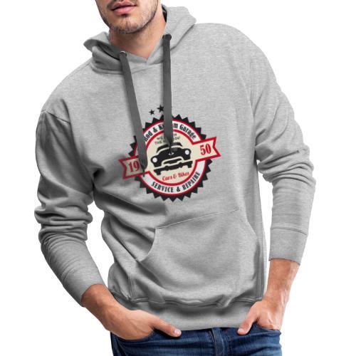 Hot Rod and Kustom Garage - Männer Premium Hoodie