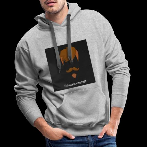 educate yourself - Men's Premium Hoodie
