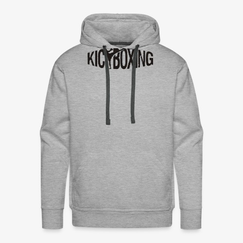 LOGO KICKBOXING - Männer Premium Hoodie