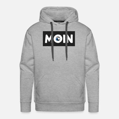 Moin mit Welle - Männer Premium Hoodie