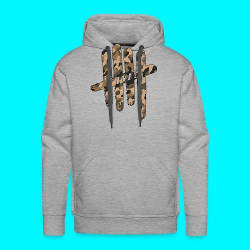 FIVES camo - Sweat-shirt à capuche Premium pour hommes