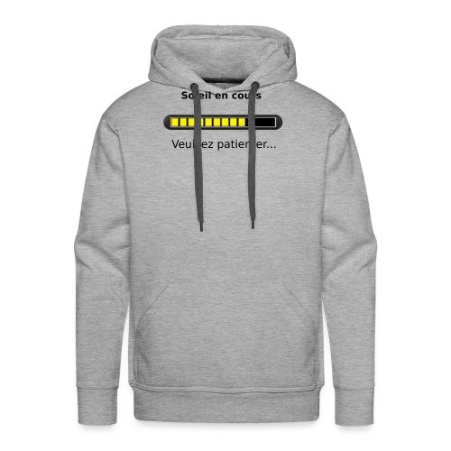 Soleil en cours - Sweat-shirt à capuche Premium pour hommes