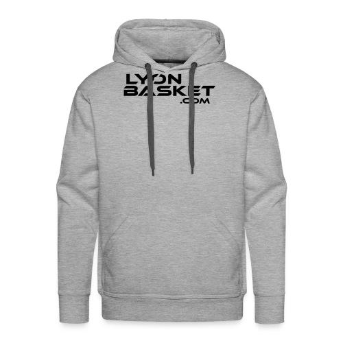 lyonbasketspread - Sweat-shirt à capuche Premium pour hommes