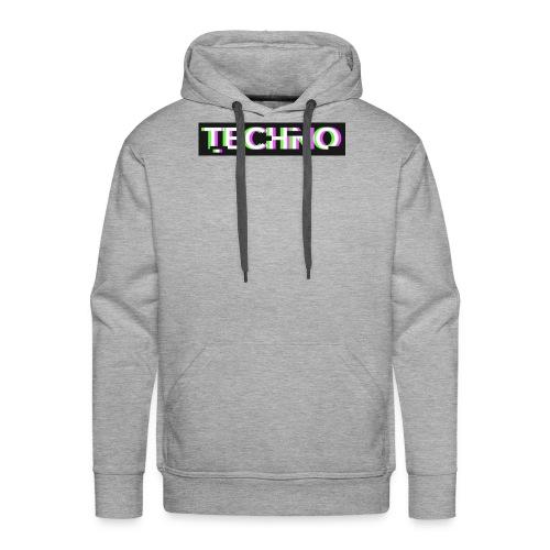Techno turnbeutel - Männer Premium Hoodie