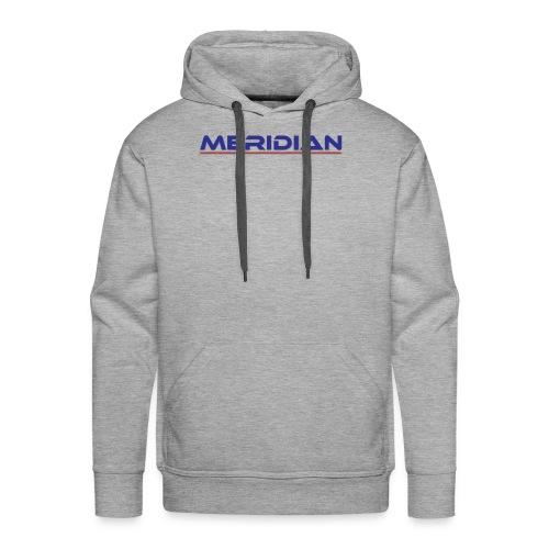 Meridian - Felpa con cappuccio premium da uomo