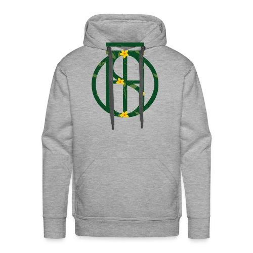 Flowerkleinhokkie gif - Mannen Premium hoodie