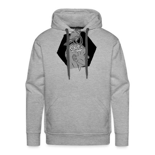 Augmented Humans - Crow - Sweat-shirt à capuche Premium pour hommes