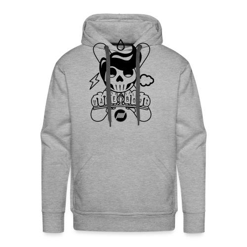 Sugar Skull Vape Boyz - Felpa con cappuccio premium da uomo