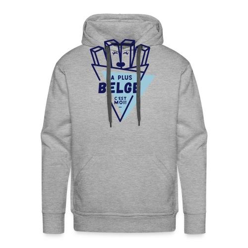 La+Belge - Sweat-shirt à capuche Premium pour hommes