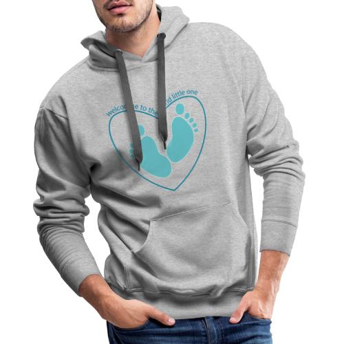 welcome to the world - Men's Premium Hoodie