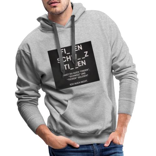 Lustige Sprüche - Männer Premium Hoodie