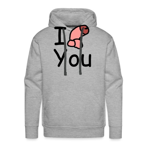 I dong you cup - Men's Premium Hoodie