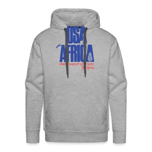 USA 4 africa - Sweat-shirt à capuche Premium pour hommes