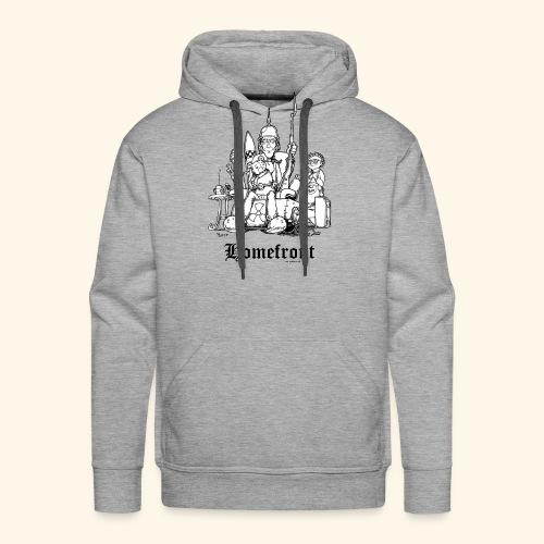Homefront Heimatfront Waffen Mama Muttersöhnchen - Männer Premium Hoodie
