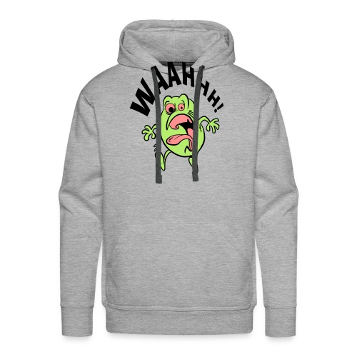 schrik momentje - Mannen Premium hoodie