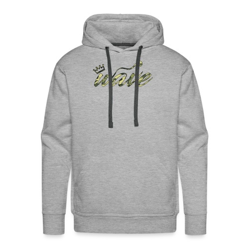 Camo Curvy Wave Clothing - Men's Premium Hoodie
