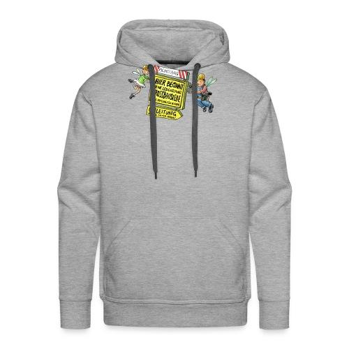 Baustelle - Männer Premium Hoodie