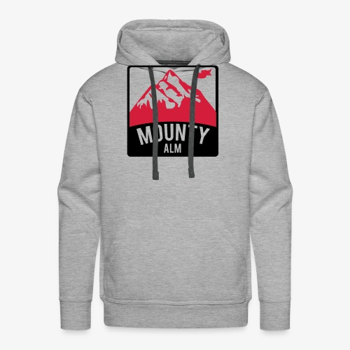 MountyAlm - Männer Premium Hoodie