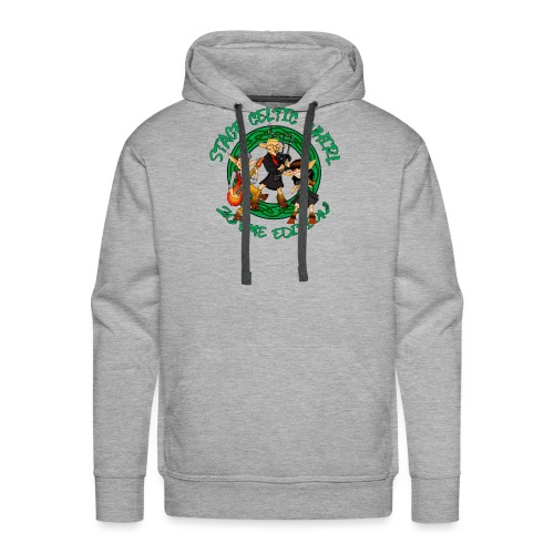 Celtic Whirl Stage - Sweat-shirt à capuche Premium pour hommes