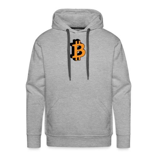 Bitcoin - Männer Premium Hoodie