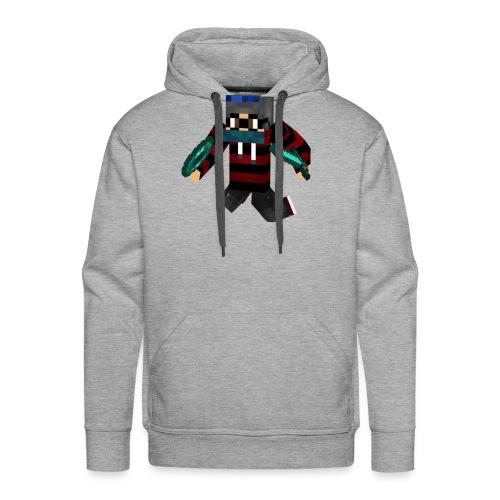 Skin Of TObiannetje - Mannen Premium hoodie