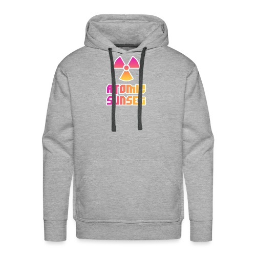 ATOMIC SUNSET - Sweat-shirt à capuche Premium pour hommes