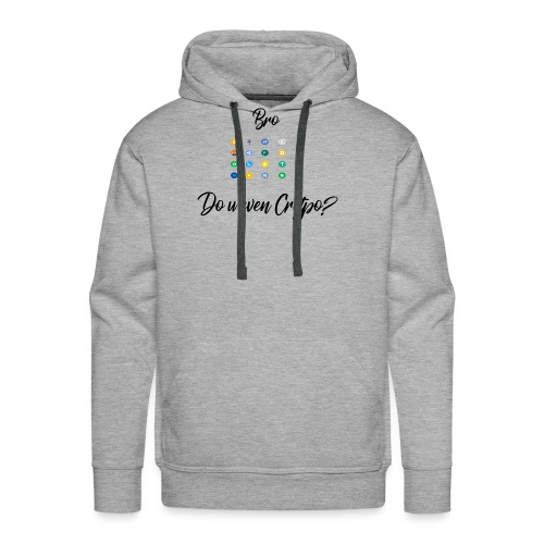 Crypto Bro - Sweat-shirt à capuche Premium pour hommes