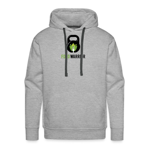 FoodWarrior Official Logo - Sweat-shirt à capuche Premium pour hommes
